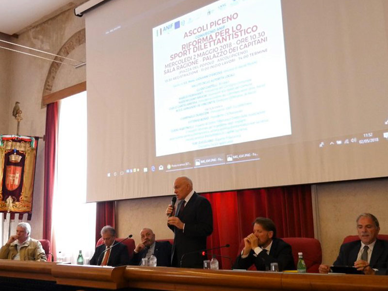 2018 - Ascoli Piceno, Riforma dello Sport - Tour